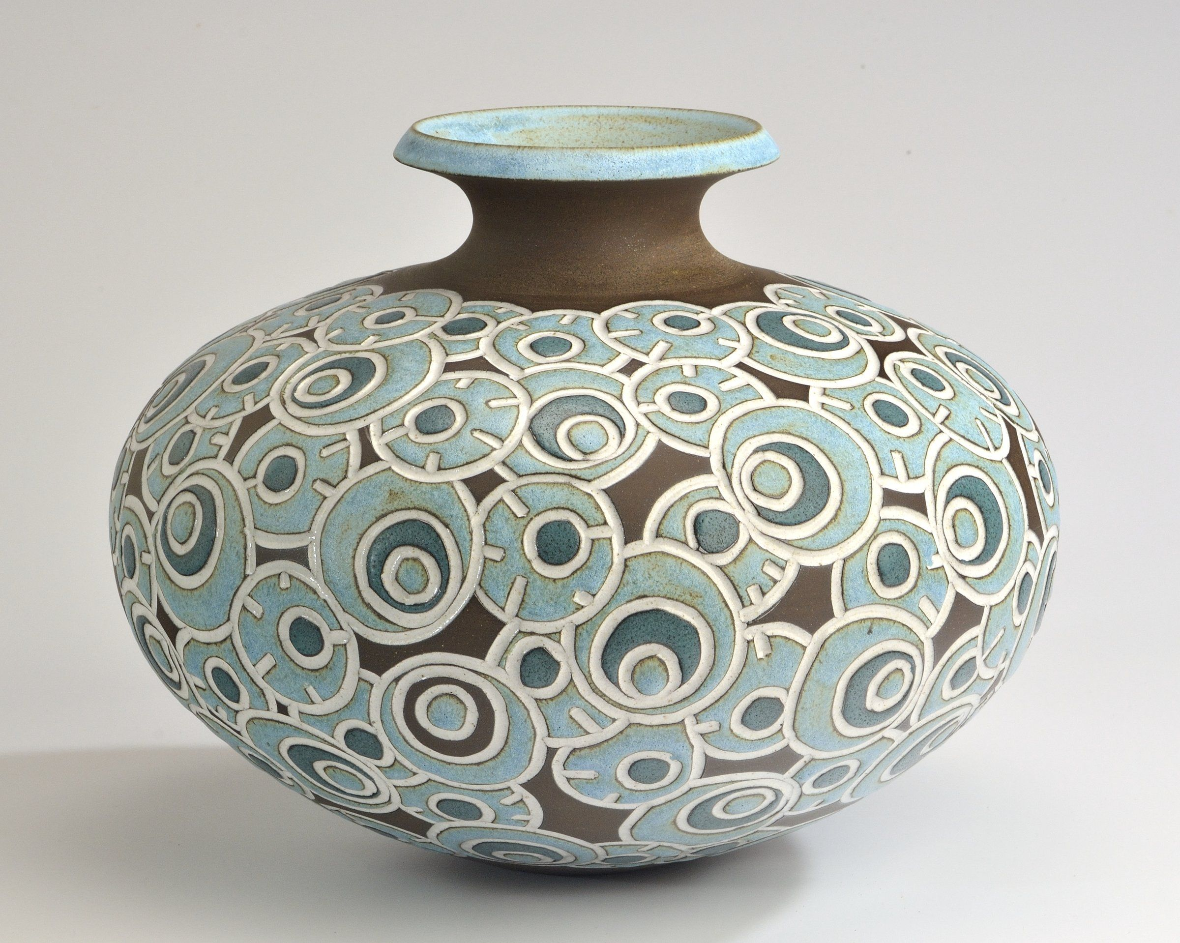 Ceramic vase 2400 1918 pottery ideas pinterest for Ceramic vase ideas