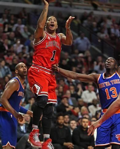 812636ef511 Photo  New York Knicks v Chicago Bulls by Jonathan Daniel   14x11in
