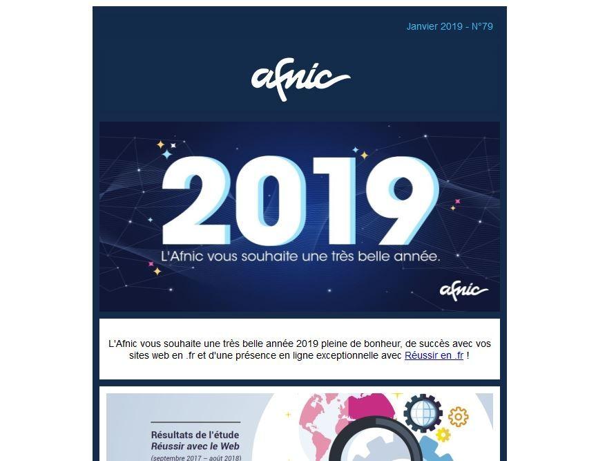 La newsletter #Afnic de janvier est en ligne ! http ...