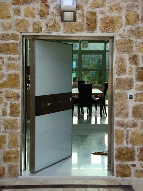 Pivot Hinge Doors High Security Doors Security Doors Security Door Doors Houzz