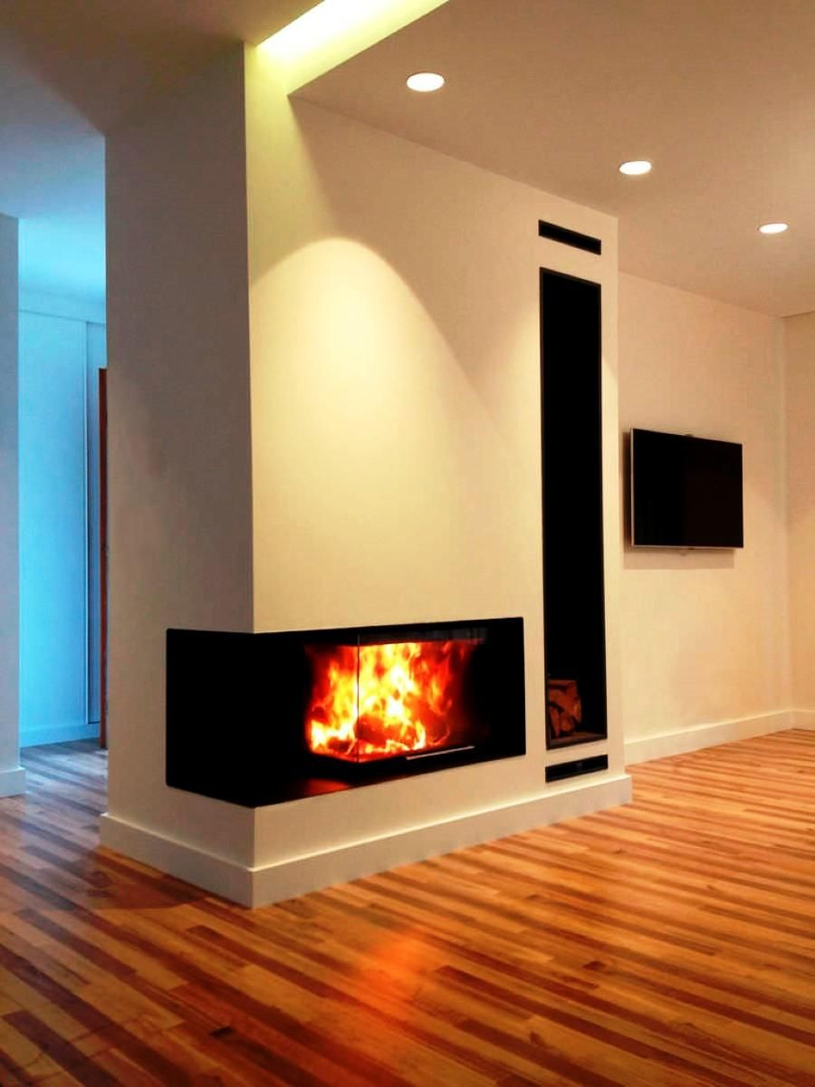 19+ Best Corner Fireplace Ideas For Your Home | Corner fireplace ...