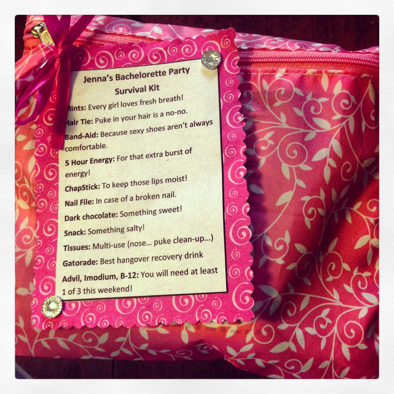 Bachelorette Inexpensive Gift. Buy Makeup Bag At The