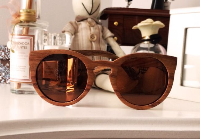 Oculos De Madeira Yeva Pra Ver O Mundo Com Filtro Oculos
