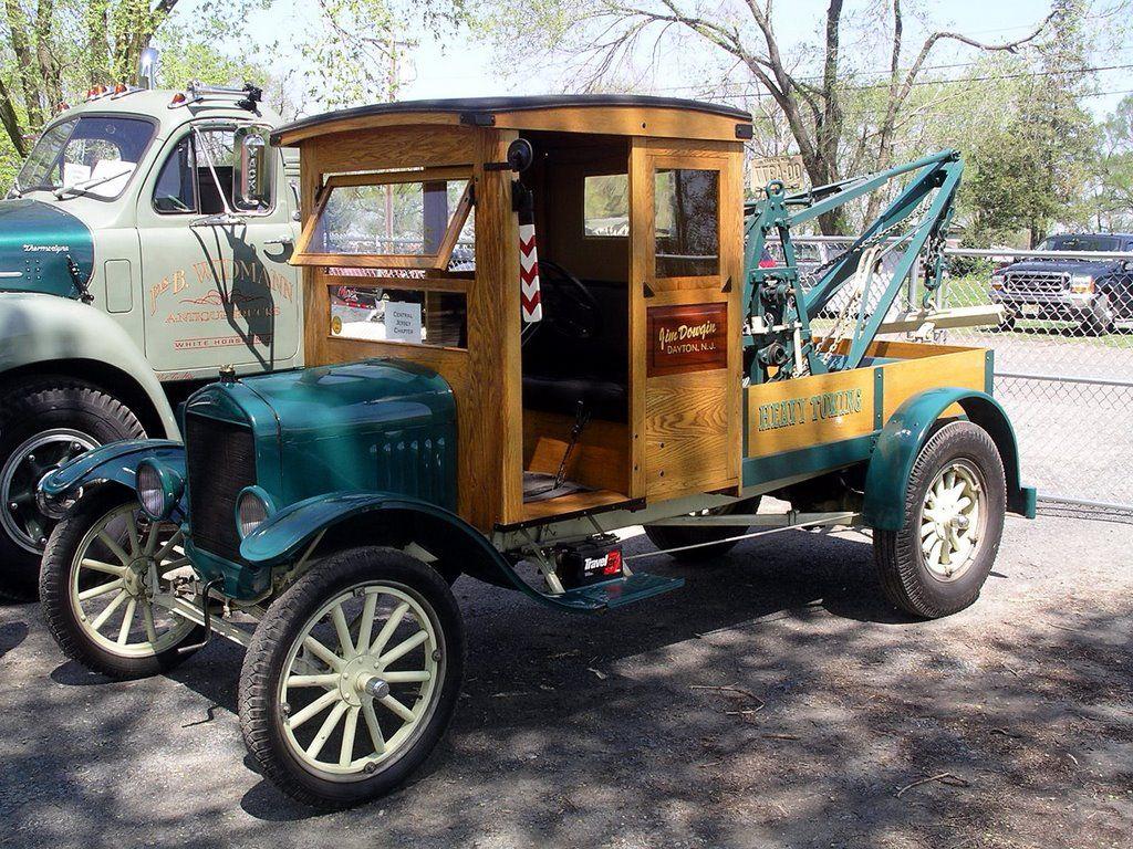 1922 ford model tt tow truck