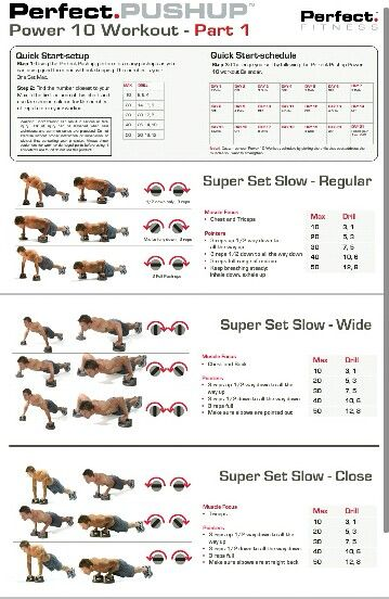 Perfect pushup workout also chart get ripped workouts rh pinterest