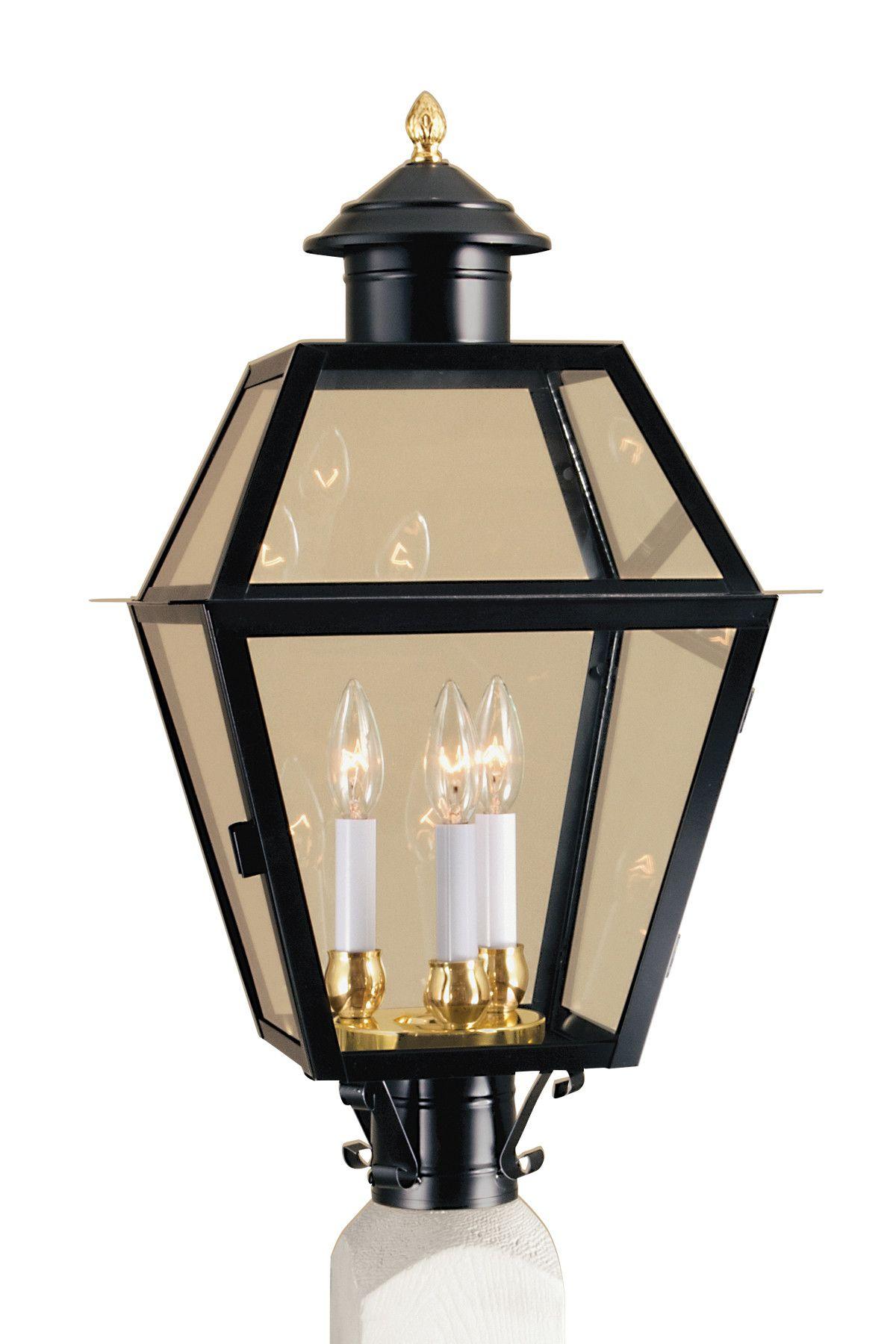 Lexington Outdoor 3-Light Lantern Head | Products | Norwell