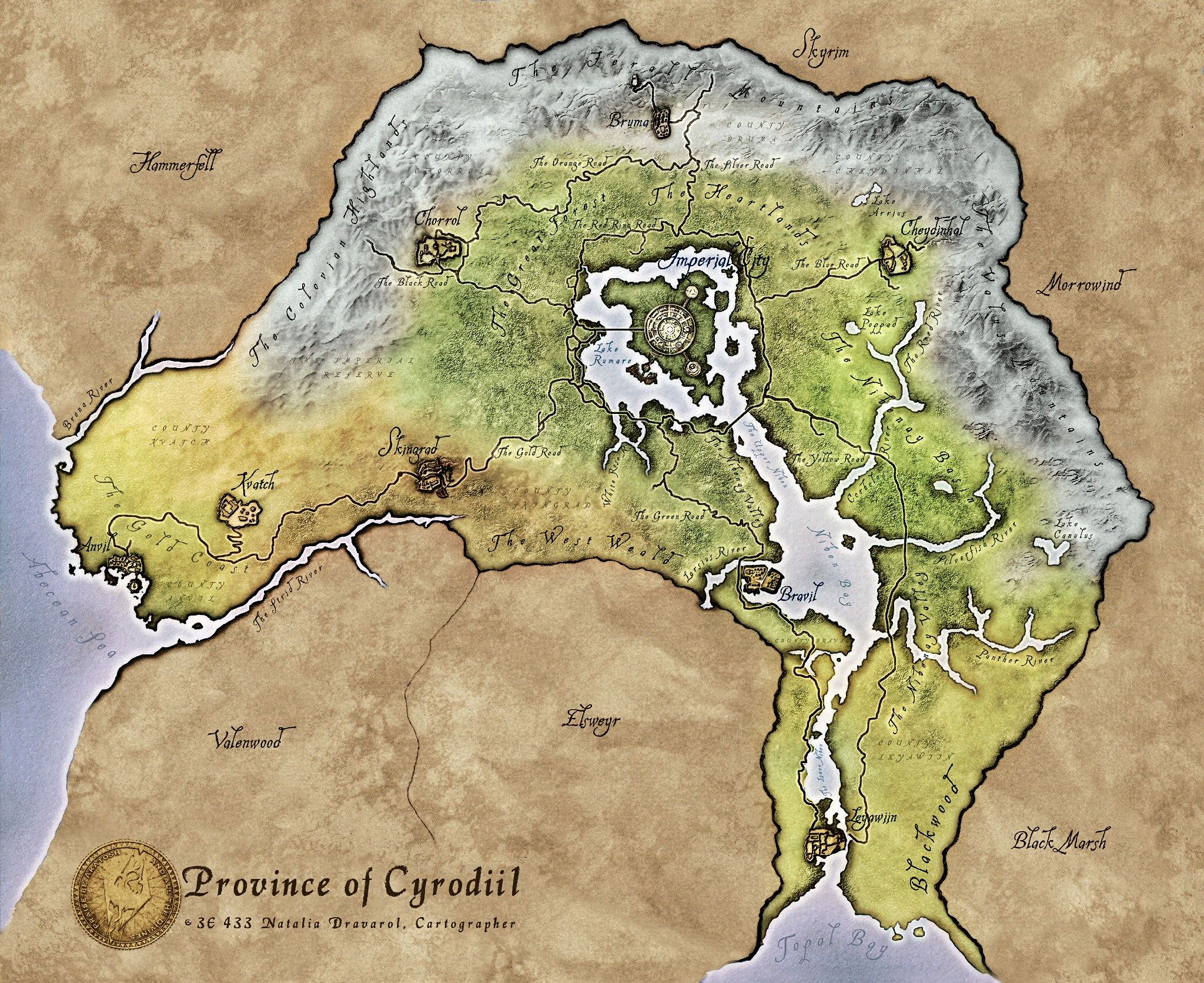 Province of cyrodiil in tamriel map for the elder scrolls iv province of cyrodiil in tamriel map for the elder scrolls iv oblivion gumiabroncs Choice Image