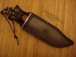 Resultado de imagen para fundas  de piel para cuchillos