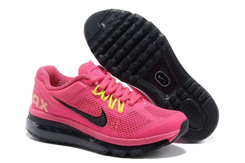 Nike Air Max 2013 Digital Pink Black Women\u0027s Running Shoes #Lovely #pink  #products
