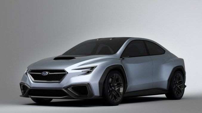 Subaru Viziv Performance 2017 Berline Agressive Et Conduite Autonome Subaru Subaru Impreza Subaru Legacy