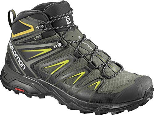 Photo of SALOMON X ULTRA 3 MID GTX MEN'S HIKING BOOTS CASTOR – CloutShoes.com