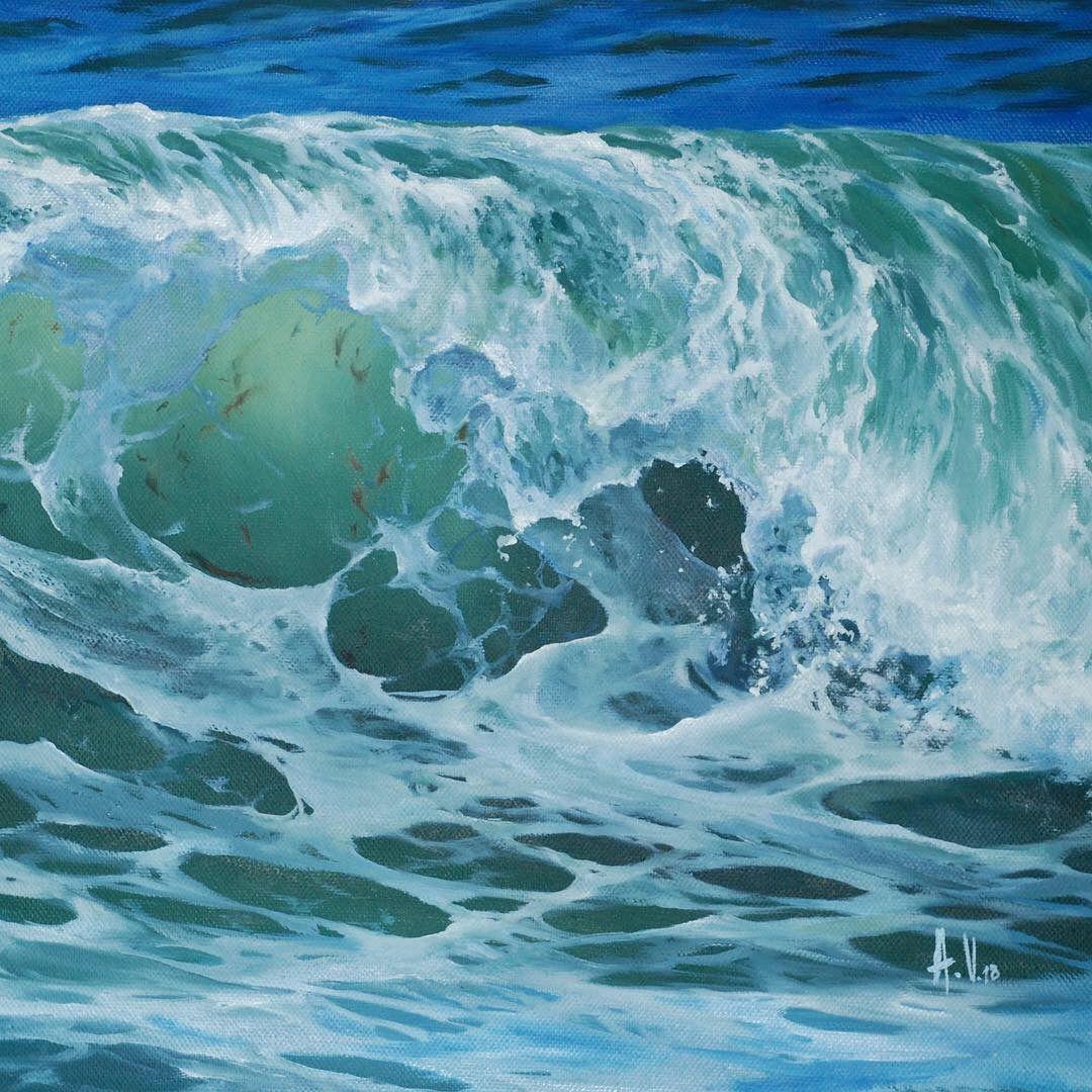 Pin Alexandra Velichko Seascapes Seascape Art