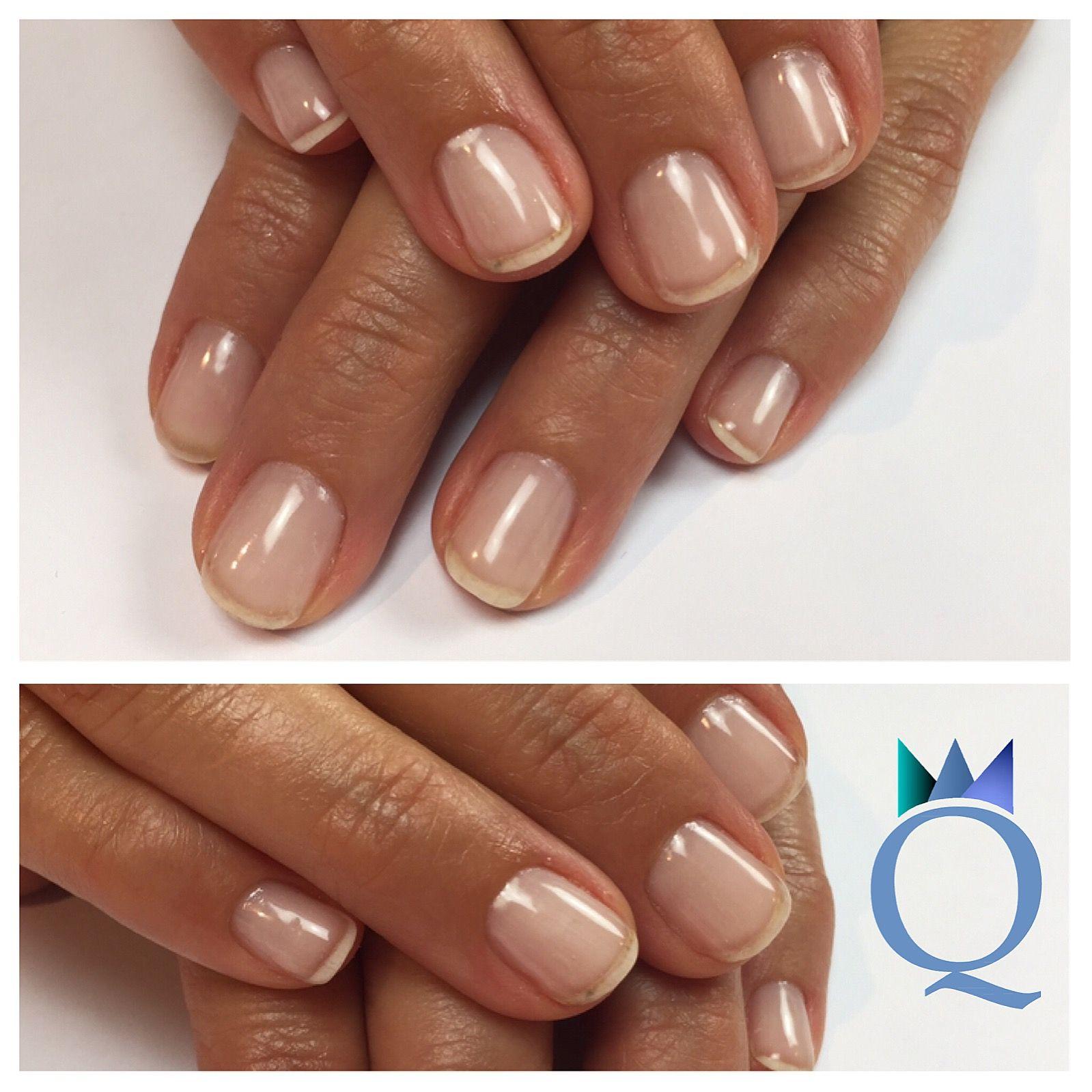 shortnails #gelnails #nails #simple #natural #kurzenägel #gelnägel ...