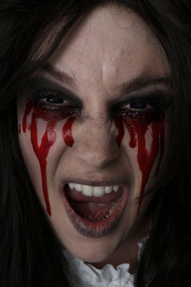 bloody halloween makeup ideas - Bloody Halloween Masks