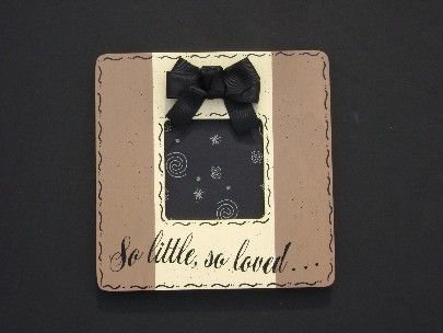 so little so loved ultrasound frame