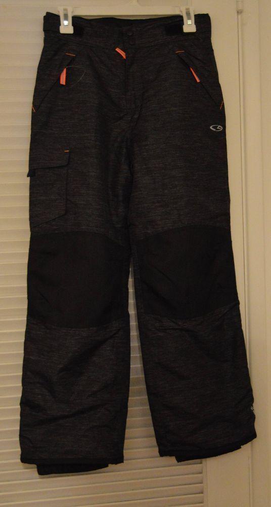 6018d76516b8 Boys Girls CG Champion Black Snowboarding Ski Snow Pants Size Large 12-14  .99  Champion  SkiPants  Sport