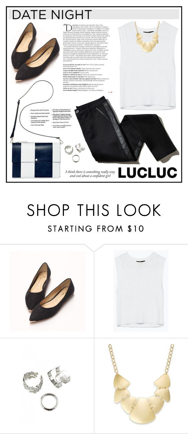 """""""LUCLUC 11 (60 Second Style: Movie Night)"""" by lookat ❤ liked on Polyvore featuring TROA, Marni, Balmain, Haze, Bar III, movieNight and lucluc"""