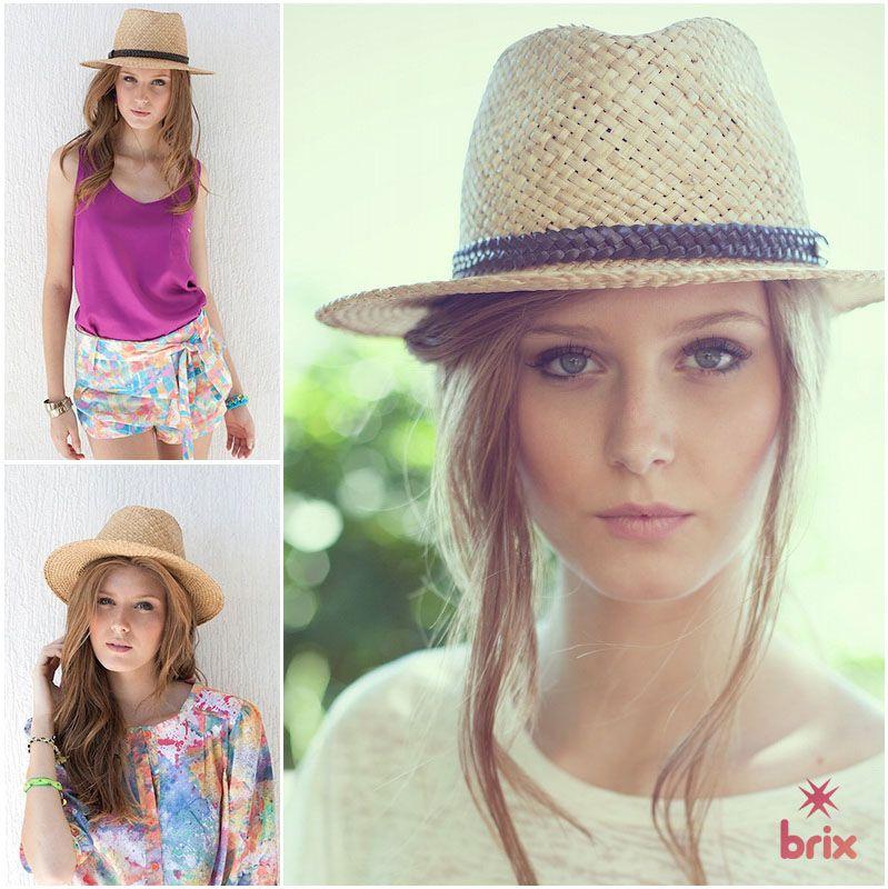 Os chapéus panamá são o must have das garotas mais descoladas que prezam por um estilo despojado, casual e cheinho de personalidade pra temporada dos dias quentes e ensolarados!