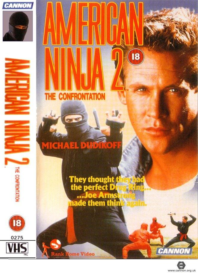 American Ninja 2 The Confrontation 1987 Ninja Action Avec Images