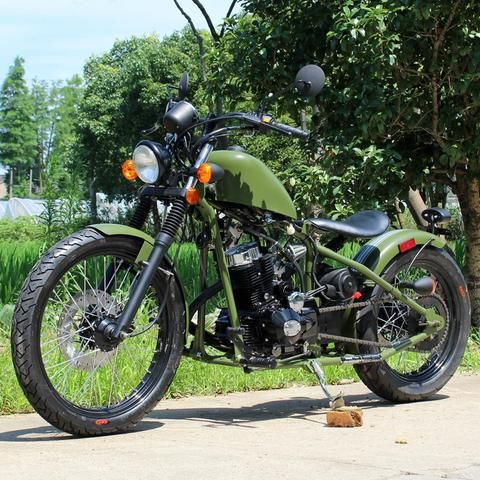 250cc Bobber Chopper Motorcycle Street Legal DF250RTB | Motorcycles