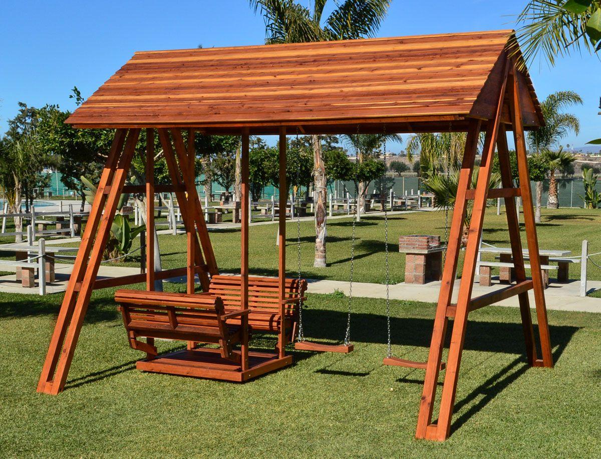 Jean S Ultimate Swing Set Options Mature Redwood San Anthony