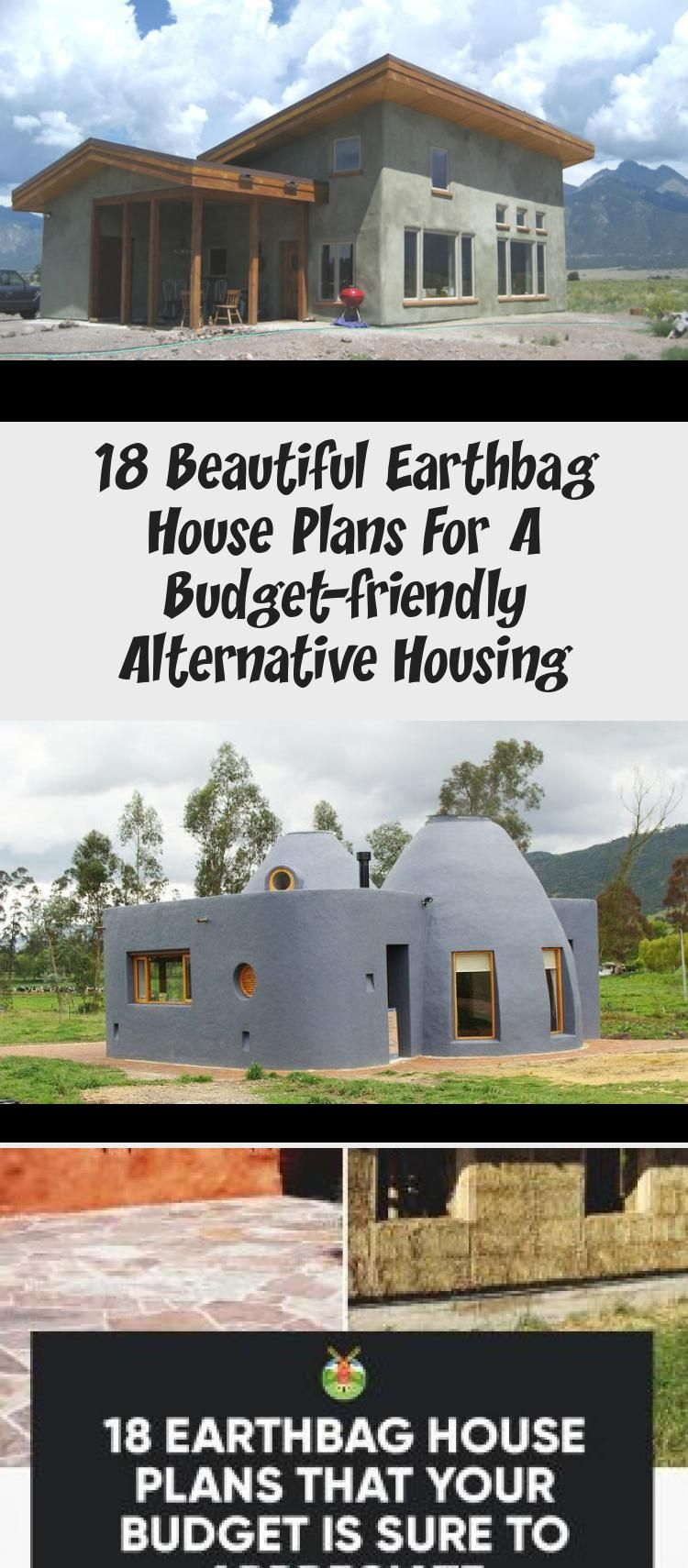 18 Beautiful Earthbag House Plans For A Budget Friendly Alternative Housing Ruby S Blog Tree House Plans House Plans Small House