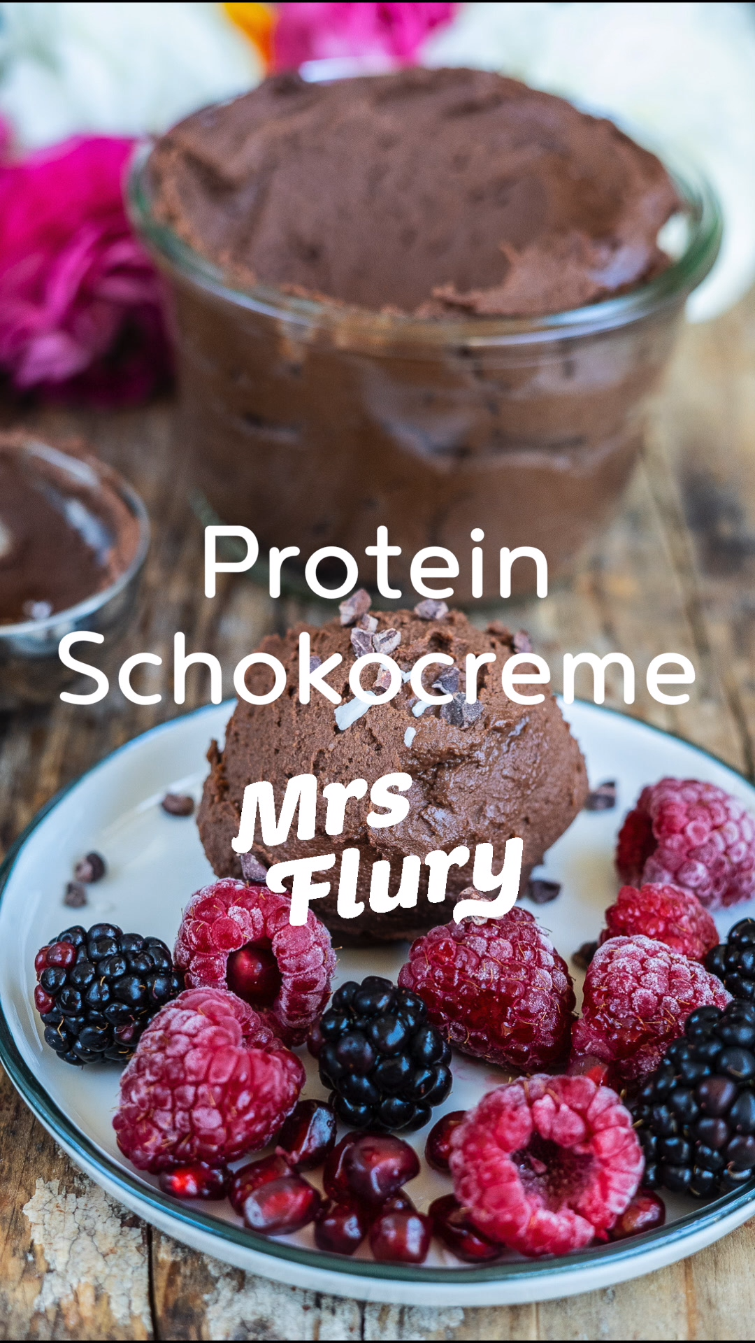 Protein Schoko Creme vegan #einfachernachtisch