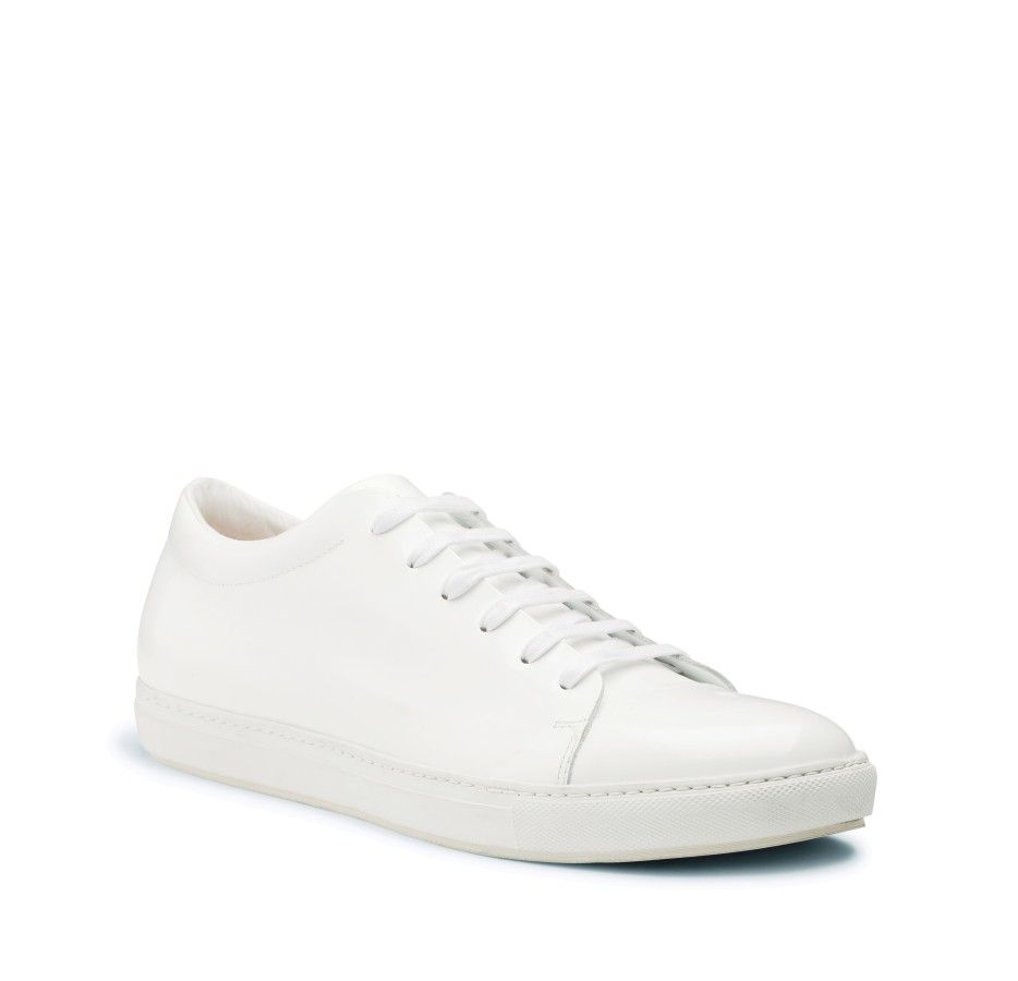 White leather sneakers from Acne, my favorite - Adrian White ... dc0f332b9c7