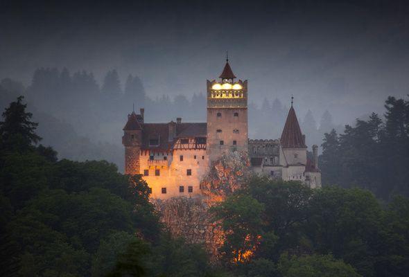 Bran Castle.  Known as Dracula's Castle. In Transylvania