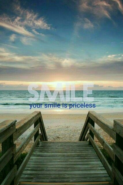 You wear your smile very well. :)