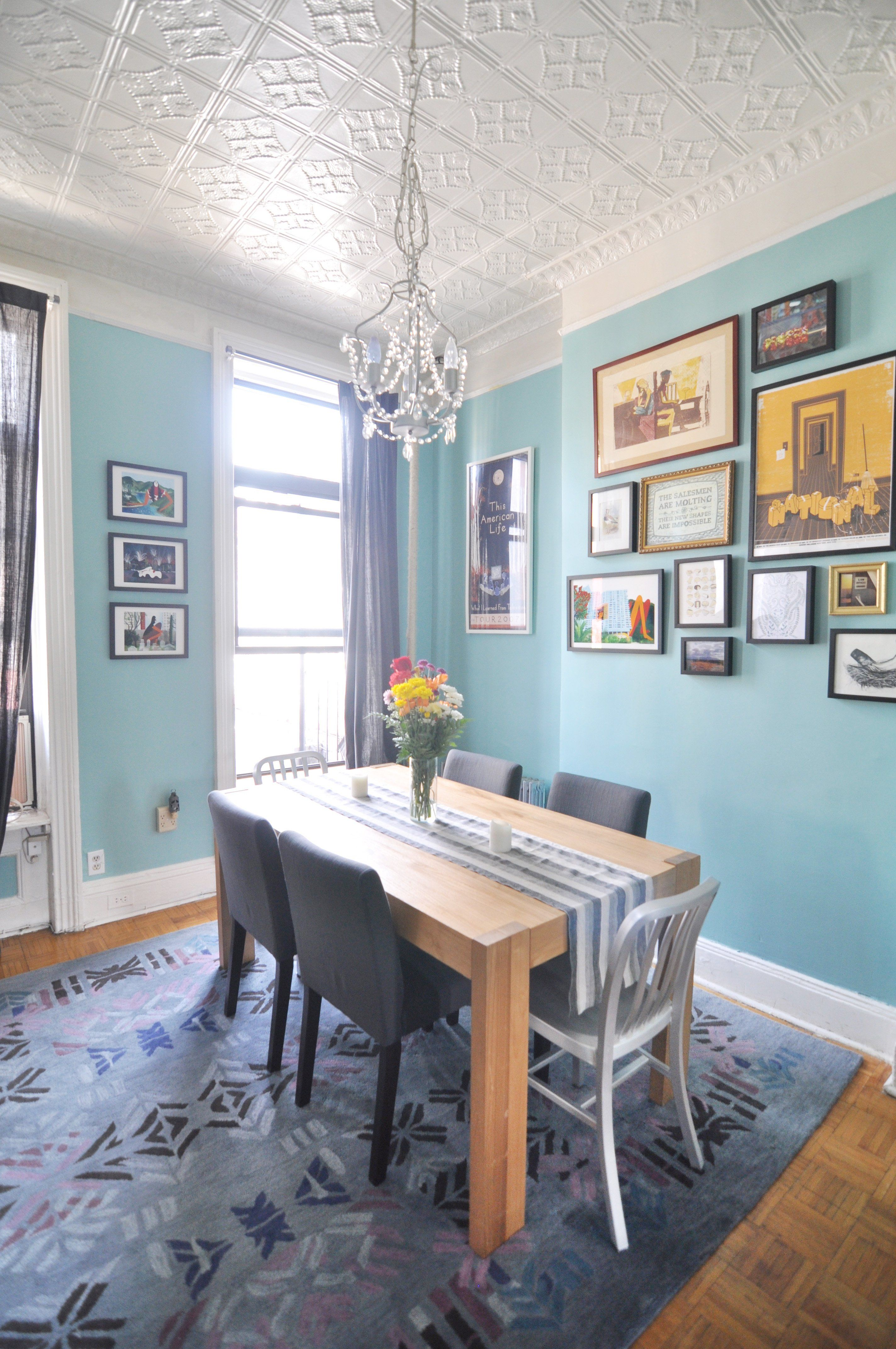 Paint colors that match this Apartment Therapy photo: SW 7523 ...