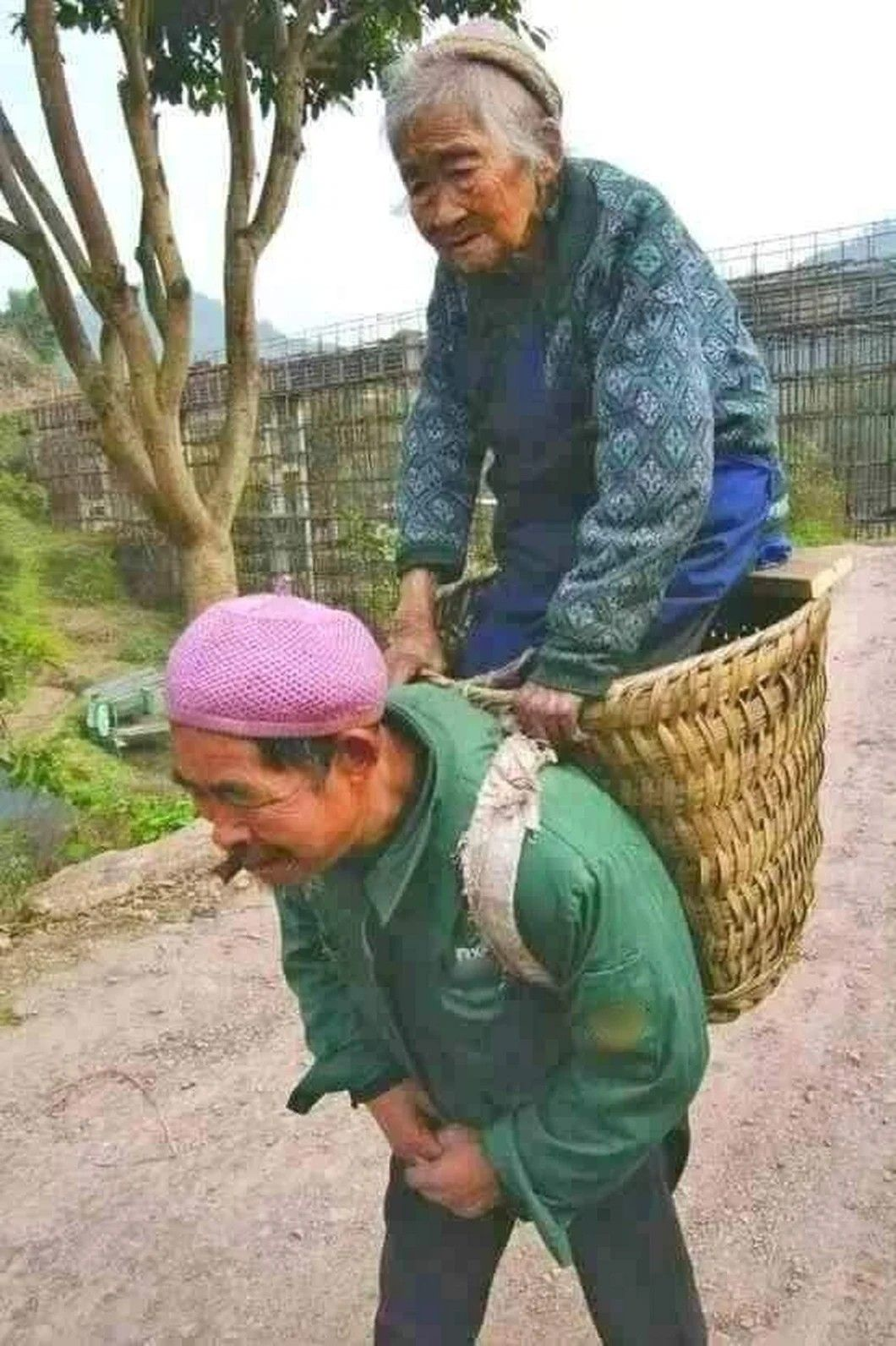 In East Asia, reverance for & taking care of the elderly is a way of life followed for thousands of years.