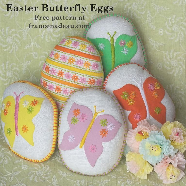 Looking for your next project? You're going to love Easter Butterfly Eggs by…