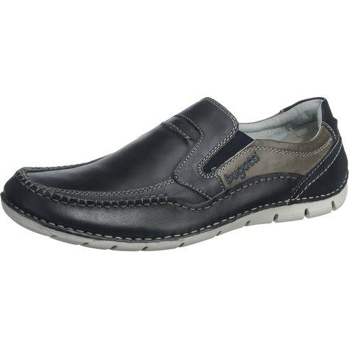 #Bugatti #Herren #Sneakers #blau - Komfortable Bugatti Sneakers aus  Echtleder. Am Einstieg besitzen die Schuhe einen Stretcheinsatz, der für  eine optiHerren ...