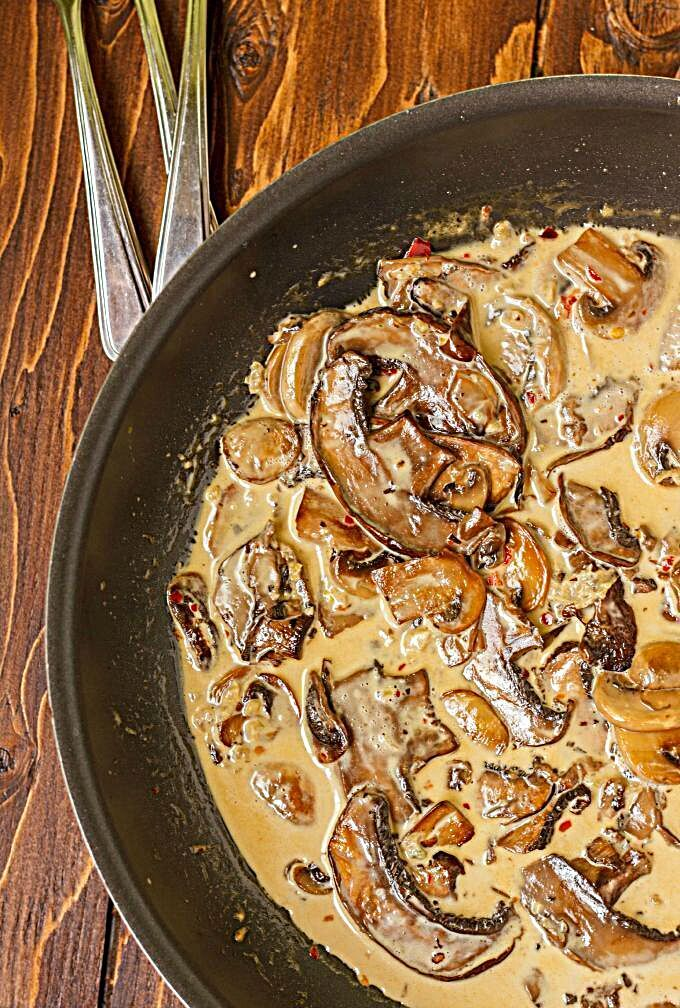 A hearty vegetarian recipe that can be made with any type of mushroom! Just watch the cooking time!...