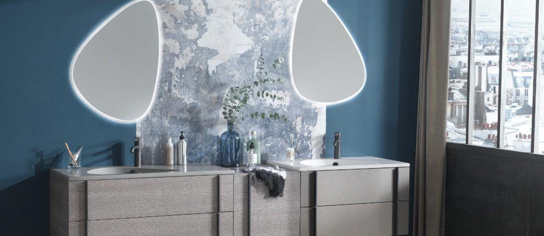 Que Mettre Sur Les Murs De La Salle De Bains Meuble Sous Vasque Miroir De Salle De Bain Plan Vasque