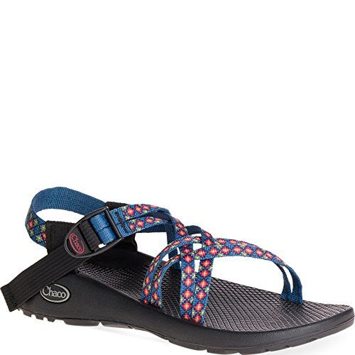 f8ff08e450f2 Chaco Womens ZX1 Classic Athletic Sandal Burst Blue 12 M US -- Click on the  image for additional details.
