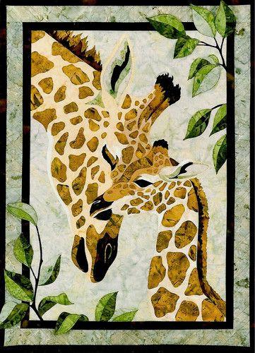 Zirafah Giraffe African Animal Toni Whitney Pattern | eBay | Quilts ...