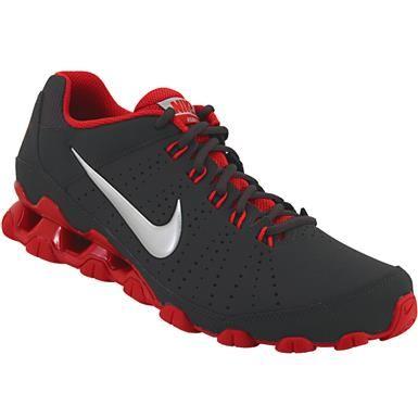 new style 31d70 f5db3 Nike Reax 9 TR Training Shoes - Mens Black Red