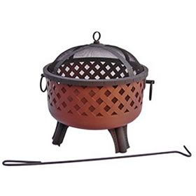 Landmann 26373 Baton Rouge (Georgia Clay) Fire Pit at Log Splitters Direct includes a  factory-direct discount and a tax-free guarantee.