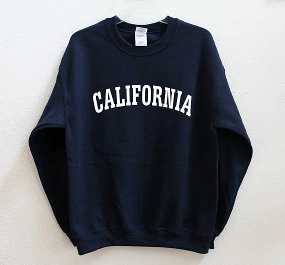 CALIFORNIA Graphic Print Unisex Sweatshirt #graphicprints