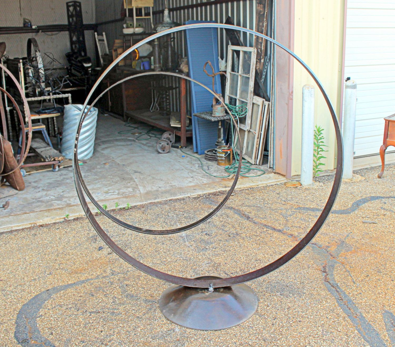 Scrap Metal Garden Sculpture Art By RecycledSalvage On