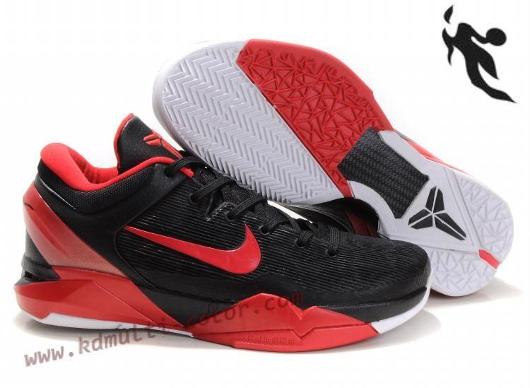 Black � Nike Zoom Kobe 7(VII) NBA Shoes Black Red White