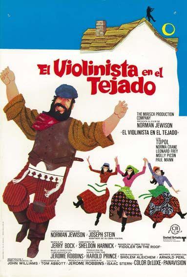 El Violinista En El Tejado 1971 Tt0067093 Cine Musical Carteles De Cine Super Pelicula