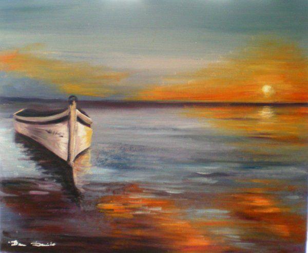 tableau peinture a l'huile marine | Peinture