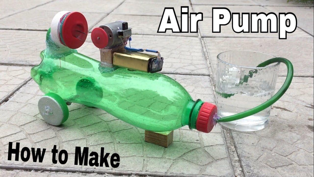 How to Make a Mini Air Compressor (Powerful Air Pump
