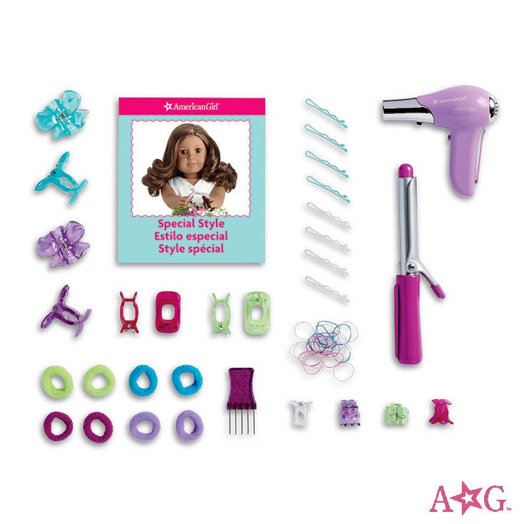 Truly Blue Hairstyling Caddy All American Girl Dolls American Girl Accessories American Girl Outlet