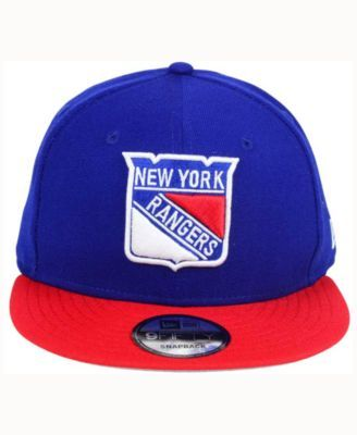 on sale a1497 8e7d2 New Era New York Rangers All Day 2T 9FIFTY Snapback Cap - Blue Adjustable