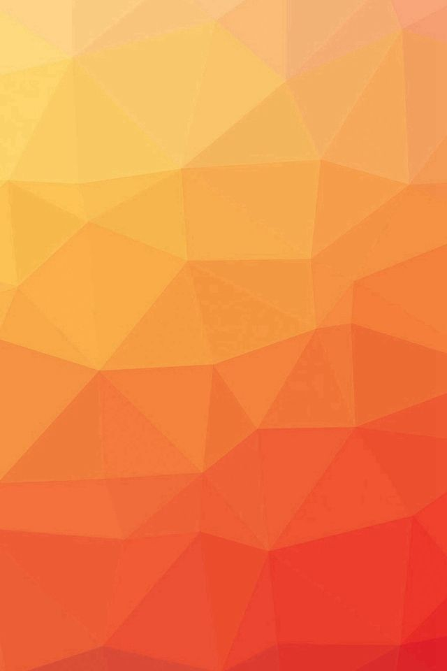 Red And Yellow Gradation Blur Pattern IPhone 4s Wallpaper