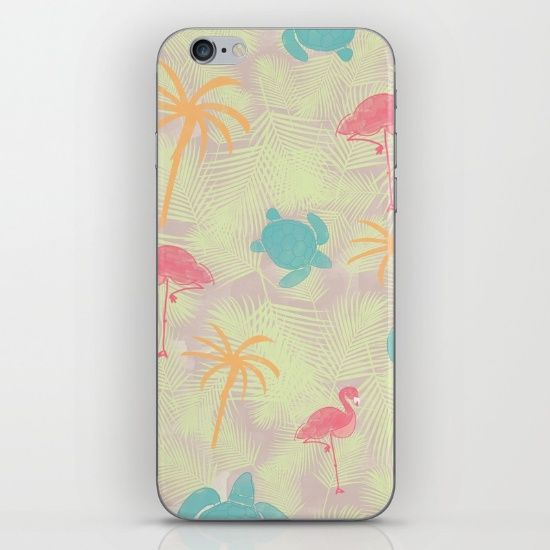Tropical pattern iPhone and iPod from Sunshine Inspired Designs available at Society6.